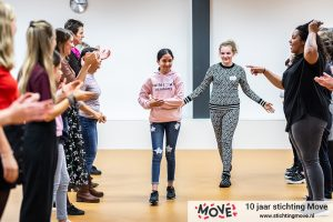 De workshop Future in Dance - Foto: Hustle Creatives